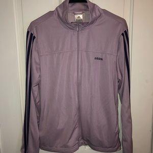 Lilac Adidas Zip Jacket